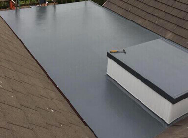 Flat Roof Repair Over Silton
