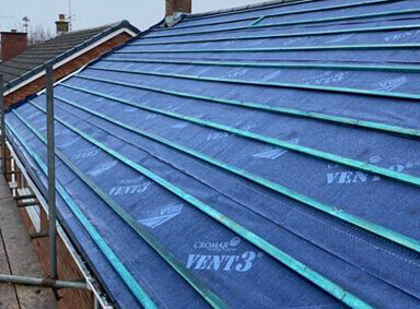 New Roof Installation Ulshaw