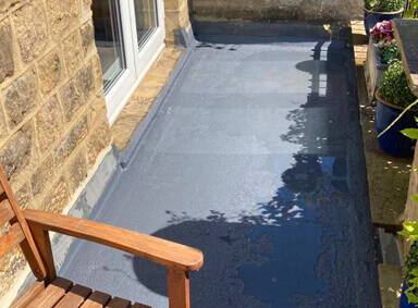 New Flat Roof Burtersett