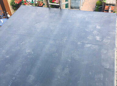 Flat Roof Holme Wood